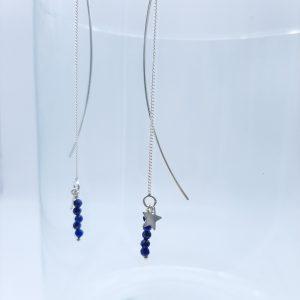bijoux-pierres-boucle-oreille-cadeaux-femme-Lapis-lazuli-bleu-foncé-argent-lithoterapie-lithosophie-1